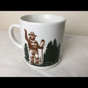 Smokey the Bear Magic Heat Activated Coffee Mug